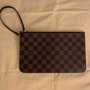 Louis Vuitton Wrist Clutch in perfect condition